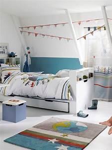 Lit Bebe Garcon : chambre enfant tout en blanc chez vertbaudet blog 2 maison ~ Teatrodelosmanantiales.com Idées de Décoration