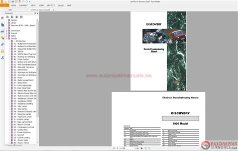 land rover discovery i 1996 electrical wiring diagram auto repair manual forum heavy