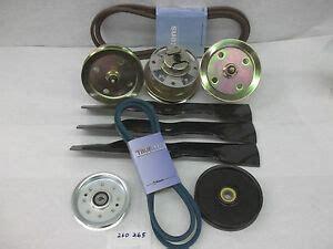 deere mower deck rebuild kit spindle belt blades 260 265 w 48 quot ebay
