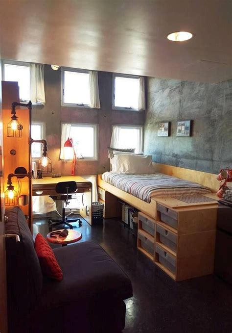 Simmons Hall, Mit, Single Dorm Room  College Dorms