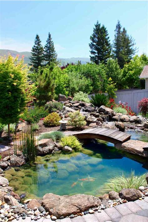 bassin d eau exterieur jardins aquatiques 101 id 233 es de bassins et de fontaines ext 233 rieurs