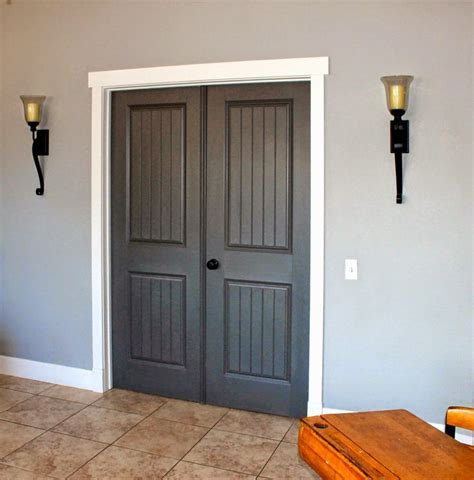 paint for kitchen cabinets grey stained door with white trim doors and white 8502