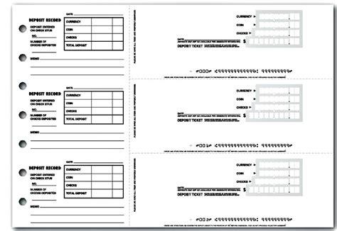 printable bank deposit slip template excel template