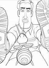 Bee Movie Coloring Pages Print sketch template