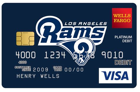 card design studio fargo fargo teams up with los angeles rams as community