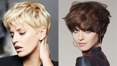 Short pixie haircuts for women 2020 Trendy hair color