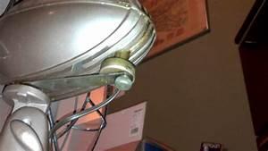 Vintage Westinghouse Oscillating Desk Fan