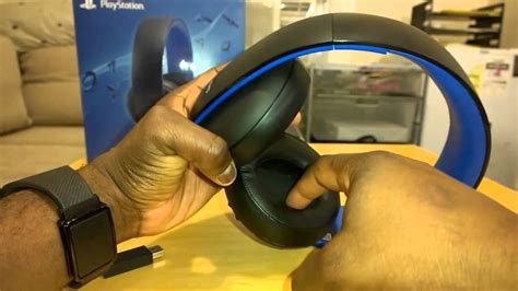 headset ps4 test gold wireless stereo headset for ps4 ps3 mic test