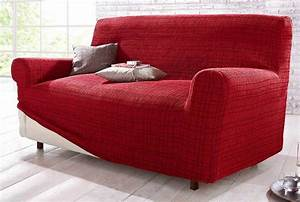 Sofa Hussen 3 Sitzer : 2 sitzer stretchhusse rot gr 2 husse sofabezug kariert stoff sofahusse neu ~ Bigdaddyawards.com Haus und Dekorationen