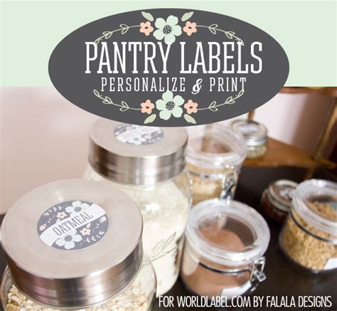 Chutney Label Templates by Kitchen Labels Worldlabel
