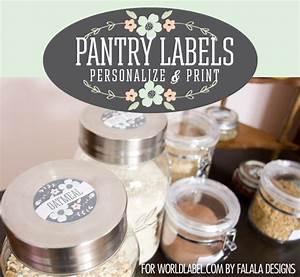 kitchen labels worldlabel blog With how to make sticker labels for jars