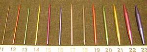 Lareliw Crafts Blog: Beginner Information - Needles