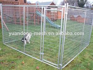 welded wire dog fence outdoor large portable dog cage With outdoor dog fences for large dogs