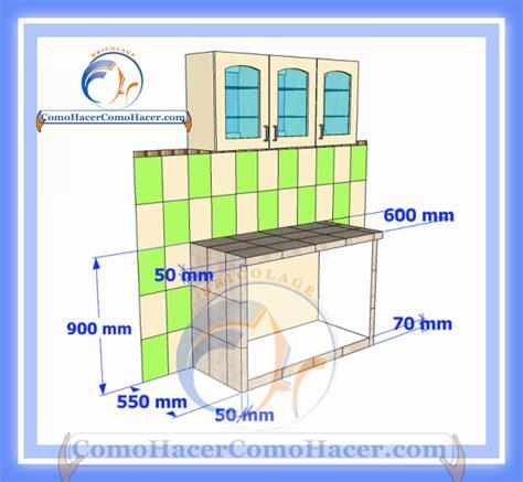 cocina mesada de concreto guia detallada  colocar