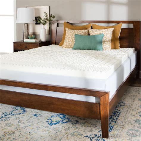 mattress foam topper how to compare memory foam mattress toppers overstock