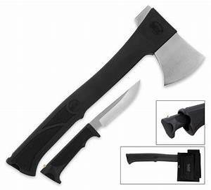 United Cutlery Axe With Hidden Knife - The Green Head