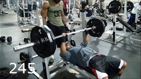 Heavy Bench Press by Heavy Bench Press To Hit 300 Pounds