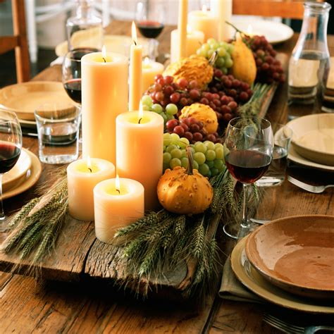 rustic chic thanksgiving decorations