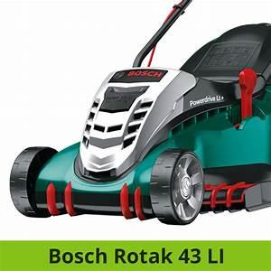 Bosch Rotak 40 Test : bosch rotak 43 li vergleich akku rasenm her ~ Watch28wear.com Haus und Dekorationen