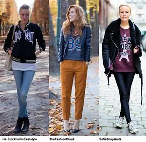 College Look Style : 3 x 1 style sporty college blue is in fashion this year ~ Watch28wear.com Haus und Dekorationen