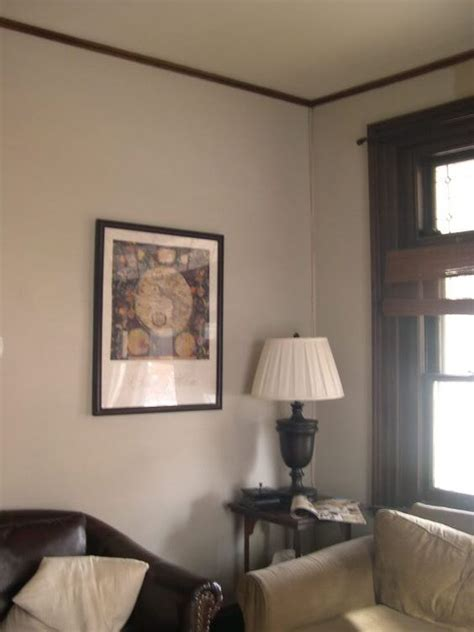 dark wood trim wood trim and gray paint on pinterest