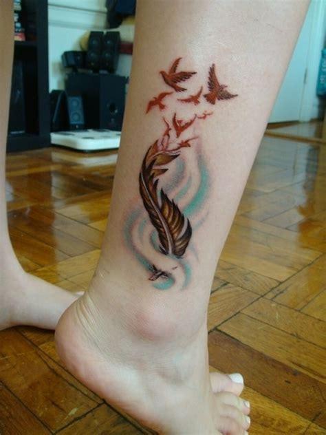 flirty girl leg tattoos designs  increase  heat