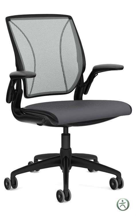humanscale diffrient world chair with fabric seat
