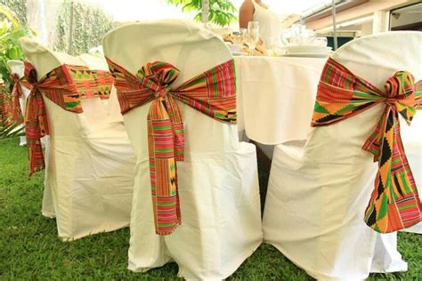 noeud chaise mariage 756 best images about kente on