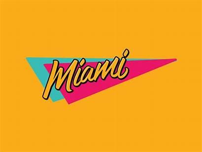 Miami Retro Classic Arkadia Sticker 90s Fun