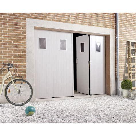 porte de garage 4 vantaux bois leroy merlin
