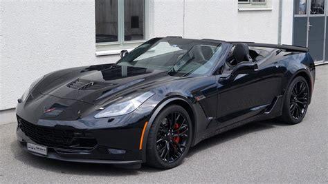 Black Corvette Z06 Convertible Looks So Dope