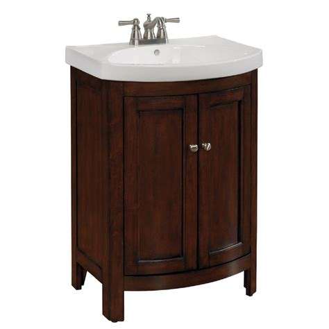 lowes bathroom sink tops allen roth moravia integral bathroom vanity with