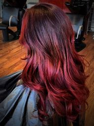 Red Ombre Hair Color Ideas Tumblr