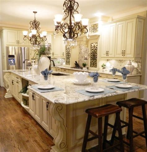 island in a small kitchen wow i bet this kitchen would make me a better cook for 7596