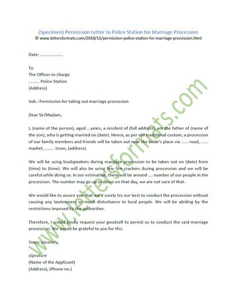 application format  police station sample letter