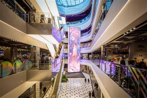 video art installation  shinsegae department store