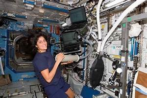 Suni Williams Space Station Exercise - Pics about space