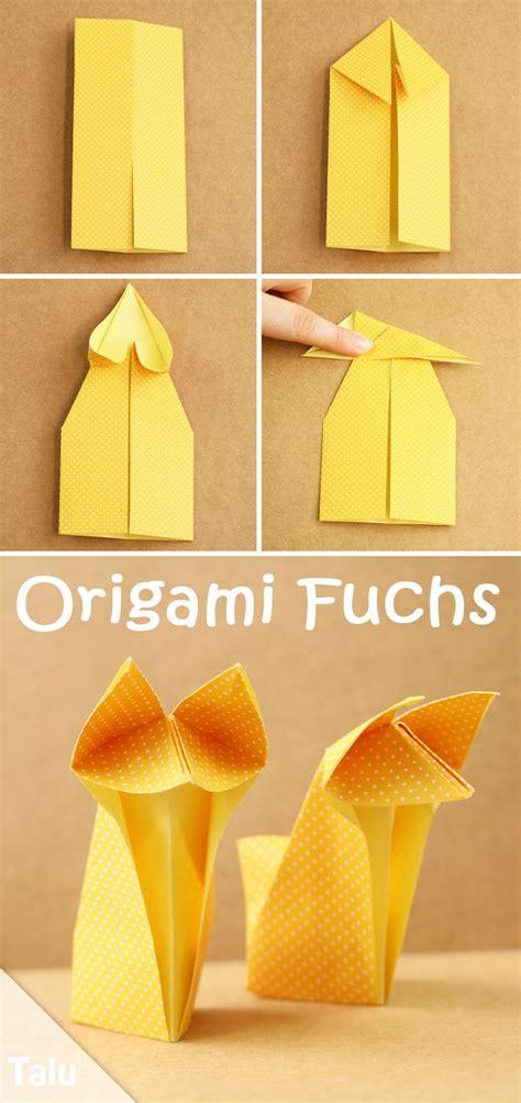 origami fuchs anleitung 200 best diy ideen basteln und gestalten images on