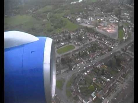 Thomas Cook Boeing 757 G-FCLA Inside Descent / Landing ...