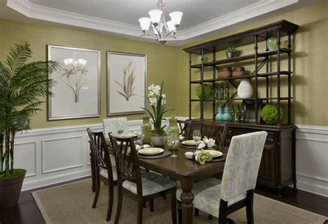 Decorating Dining Room Ideas by Great Chair Rail Molding Decorating Ideas