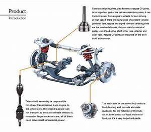 Cv Shaft For Toyota Hilux  Standard  Ifs Ln107 Ln167 Ln169