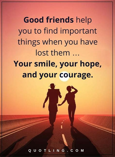 friendship quotes good friends    find important