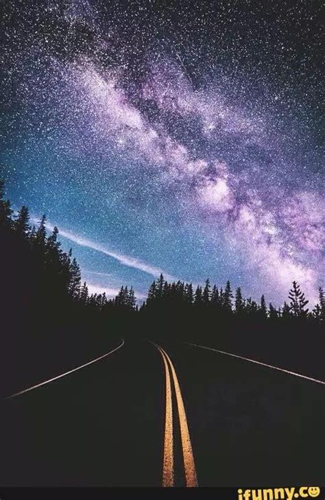 Galaxy Road Cool Nature Stuff Wallpaper