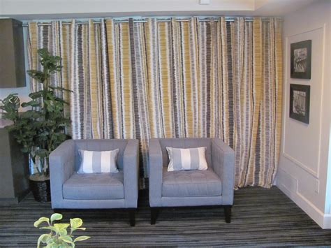 cover walls with curtains media room cabinet update