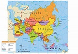 asia map political - Asia Maps - Map Pictures