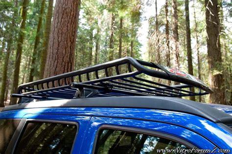 nitro  roof rack cargo basket  rear basket dodge