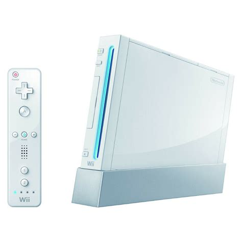 Wii Console Price by Nintendo Wii White Console 45496342067 Ebay