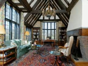 rug tudor interiors the nearly great room is perhaps the home 39 s most - Tudor Home Interior
