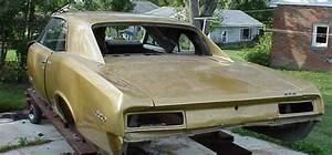 1967 Pontiac Gto Coupe Project Good Title And Lemans Parts