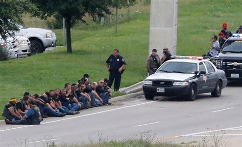 Waco Police Shot Bikers With
